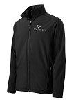 Men's Core Soft Shell Black Jacket