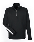 Under Armour Men's Qualifier 1/4 Zip-One America all White Logo