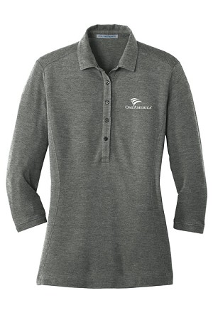 Ladies Coastal Cotton Blend Polo